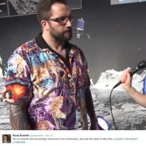 Rosetta scientist