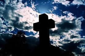 cross gravestone